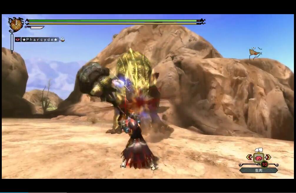 转载 怪物猎人3g 大锤 g恐暴龙6分42秒